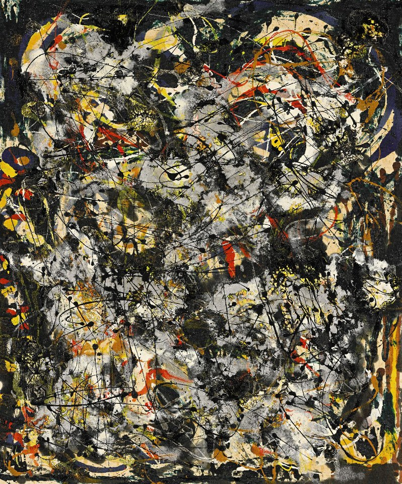 Jackson Pollock's Number 4