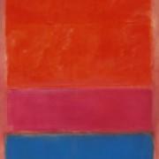 Mark Rothko's No.1 (Royal Red and Blue)