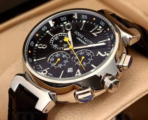 Louis Vuitton luxury watch