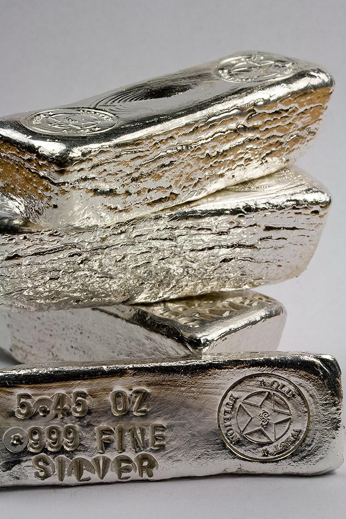 Genuine silver bars